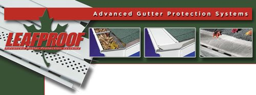 Leafproof® keeps leaves and debris out of your gutters
