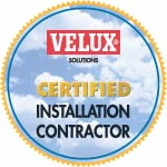 certified installer with Velux Skylights and Sun Tunnels