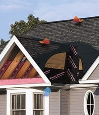 OC Roofing system whole roof thumb - Roof One Products: Other Products: Ventilation