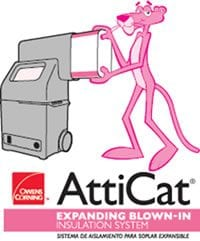 atticat expanding blown in insulation system - Roof One Services: Residential: Tax Credit: Insulation