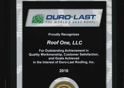 durolast 400x284 - Awards & Certifications