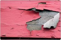 pink paint peeling1 - Roof One LLC Is A Lead-Safe Certified Contractor