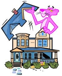 pink panther opens the roof - Roof One Services: Other Services: Energy Evaluation