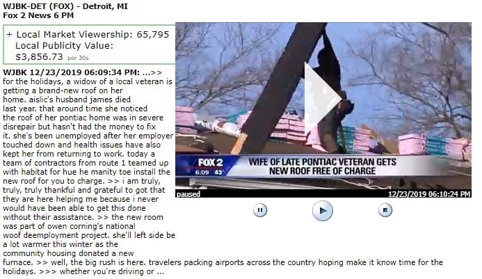 wjbk det Fox News - In The News