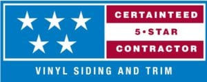 CT 5 STAR SIDING LOGO 1 300x119 - Roof One Michigan. Greater Detroit Michigan Roofing Contractor