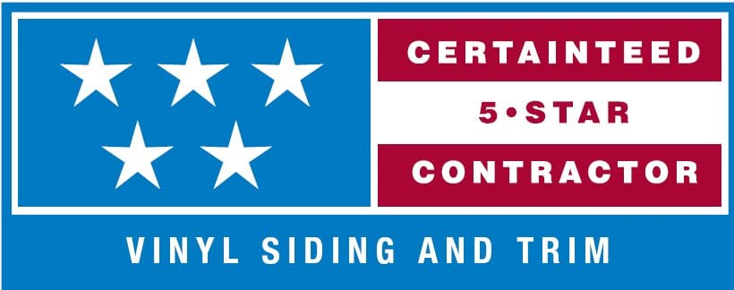 CT 5 STAR SIDING LOGO 1 - Roof One Michigan. Greater Detroit Michigan Roofing Contractor